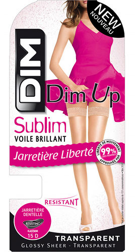 DIM Sublime Voile Brilliant Up Stay-up Till bruden / Strumpbyxor.com