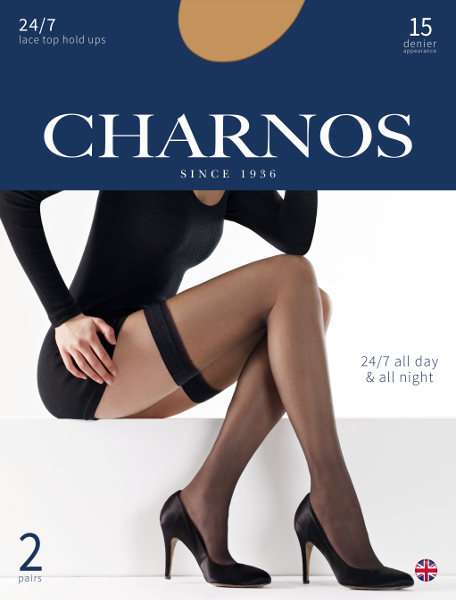 Charnos 24/7 stay-up 2 pack! Stay-up  / Strumpbyxor.com