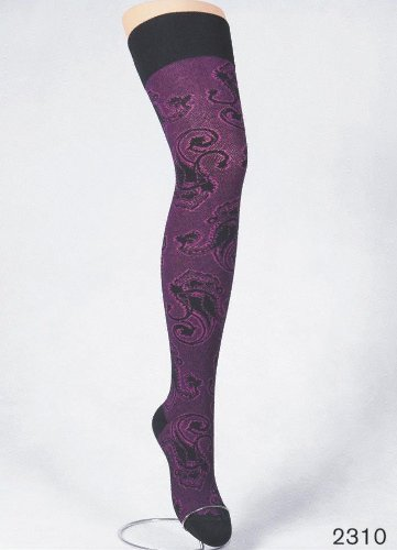 Crönert 48419 Paisley Over-knee Special Offer Vinter & Höst / Strumpbyxor.com