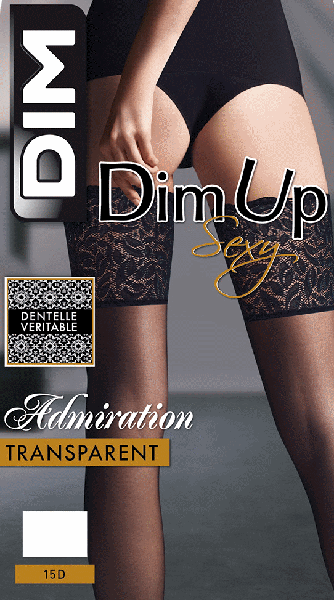 DIM Sexy Jarretiere Large Stay-up  / Strumpbyxor.com