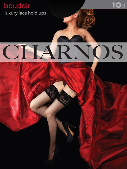 Charnos Luxury Lace Stay-up  / Strumpbyxor.com