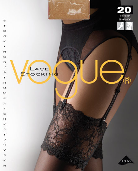 Vogue Lace Stocking Strumpor  / Strumpbyxor.com