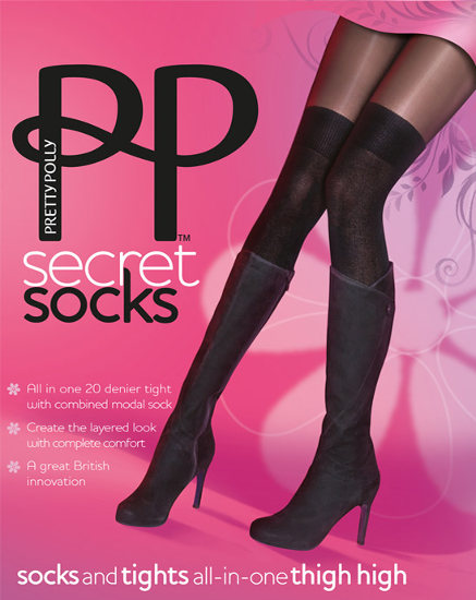 Pretty Polly Secret Socks Strumpbyxor  / Strumpbyxor.com